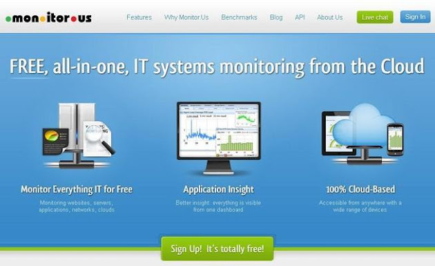 mon.itor.us Website Monitoring