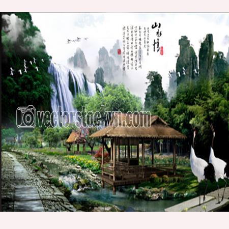 Tranh Phong Cảnh.