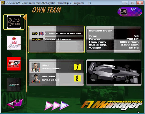 F1 Manager Professional - MOD 2013
