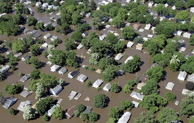 Flooding - Iowa, United States (June 2008)