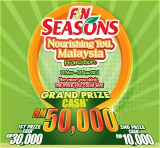 F&N Seasons 'Nourishing You Malaysia' Contest