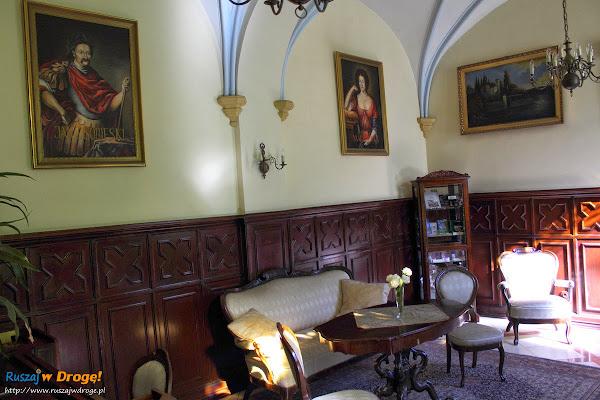 Pałac Rzucewo na Kaszubach - wnętrza