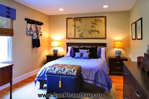 Phòng ngủ kiểu châu Á-7