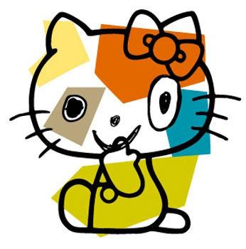 *Hello Kitty長嘴了:Javier Mariscal繪歪臉新面貌! 3