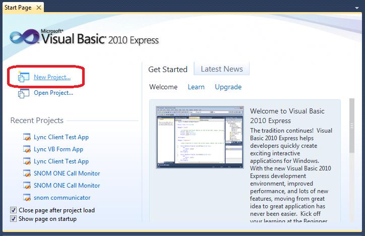 Matt Landis Windows PBX & UC Report: Writing Your First  Net