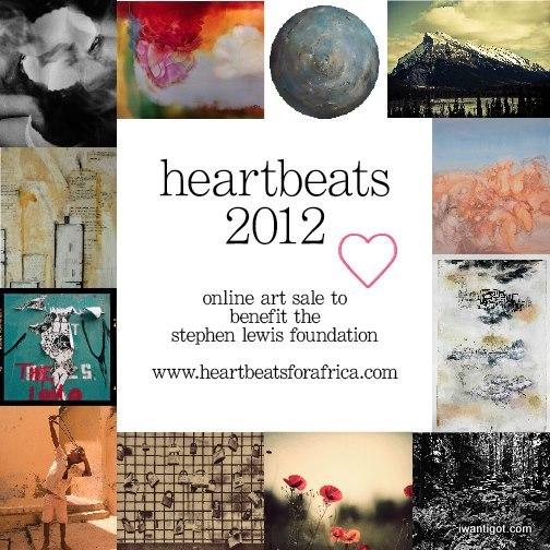Heartbeats for Africa Online Print Sale - Starts November 15, 2012
