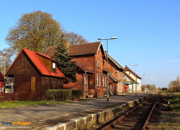 Łeba - dworzec kolejowy