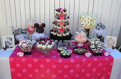 Party Decoration on Minnie Mouse Party Table Decoration Photograph   Minnie Mous