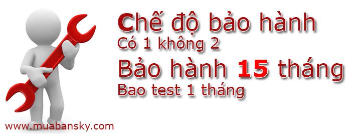 Bao hanh 15 thang