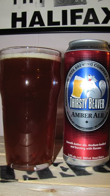 Thirsty Beaver Amber Ale