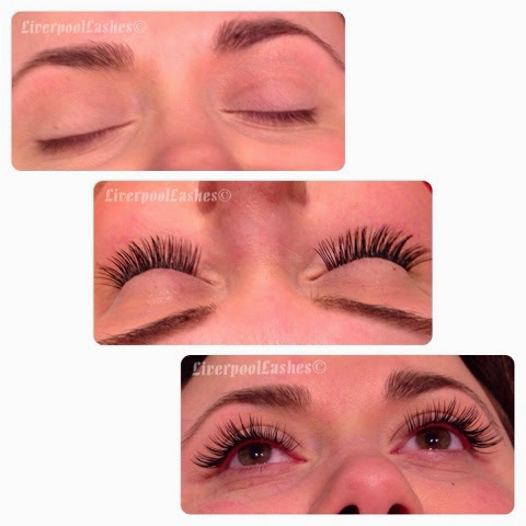 semi permanent lashes liverpool hollywood lash false extensions
