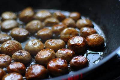perfekt gebratene, goldgelbe Champignons | Arthurs Tochter kocht. Der Blog für Food, Wine, Travel & Love