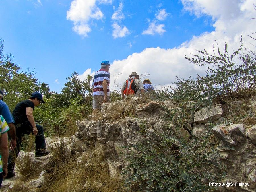 Цфат. На Гив'ат а-Мецуда. Экскурсия по Верхней Галилее. Гид в Израиле Светлана Фиалкова.