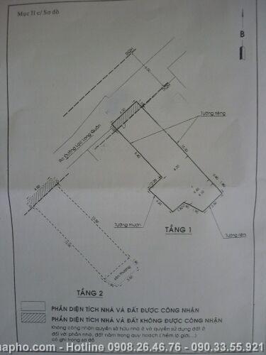 Bán nhà Lạc Long Quân , Quận 11 giá 3, 1 tỷ - NT117