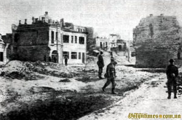 Луцьк після бомбувань