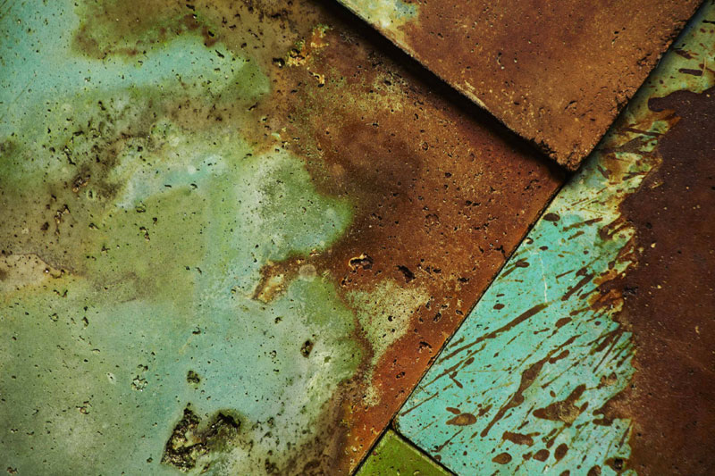 Acid Stained Concrete Kitchen Floor
