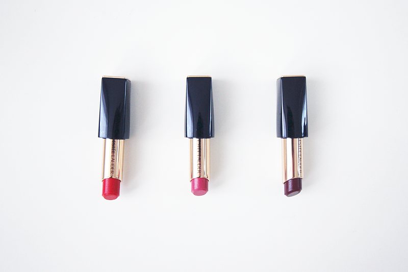 Estée Lauder Pure Color Envy Shine lipsticks