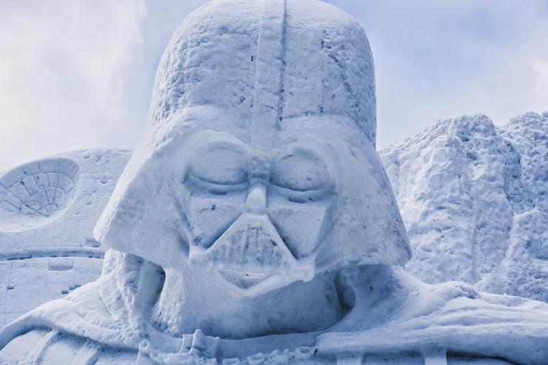 さっぽろ雪まつり 雪のスター・ウォーズ 写真3