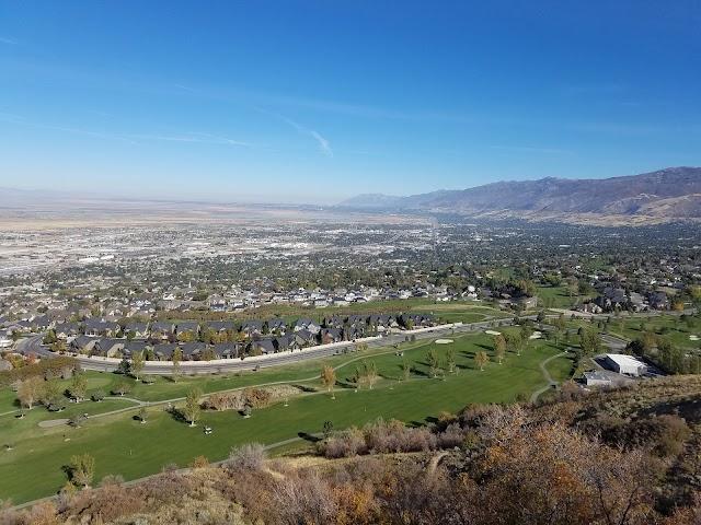 Bonneville Shoreline Trail and Club House Court, North Salt Lake Utah