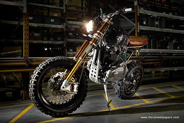 Triumph TFC2 Scrambler Custom Motorcycle