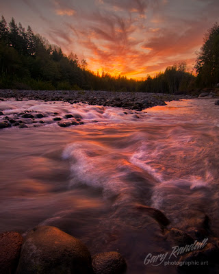 Sandy River sunset