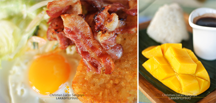 Breakfast Fare at Dumaguete's Sta. Monica Beach Club