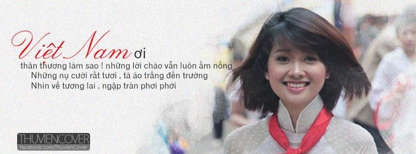 Ảnh bìa người con gái Việt Nam