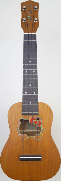 Vox Hello Kitty mahogany vuk33 Soprano at Ukulele Corner