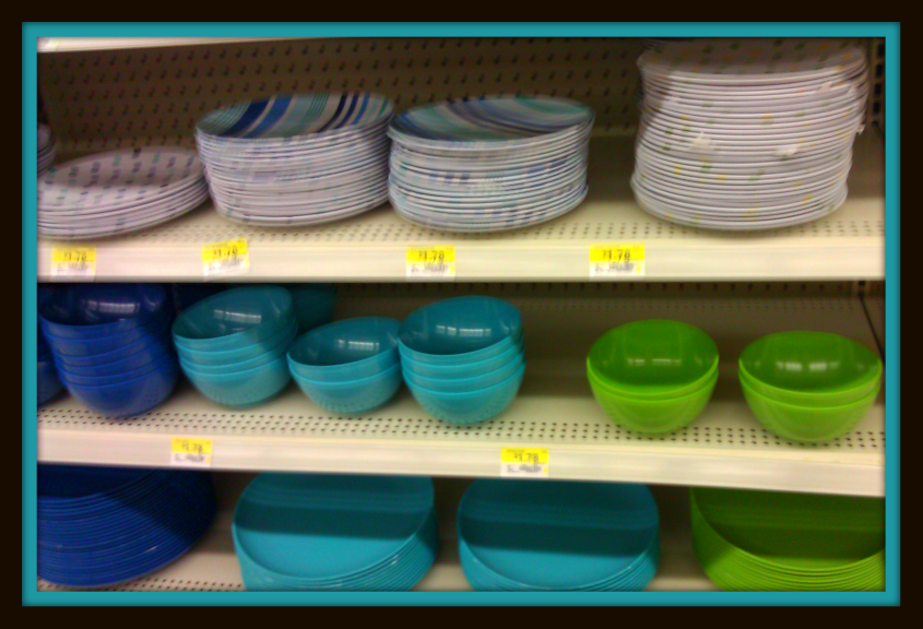 Bowls plates tumblers and solids mixed with stripes are going to be big this year. & Vintage Plastic Melmac Dinnerware History Melamine : Walmart ...