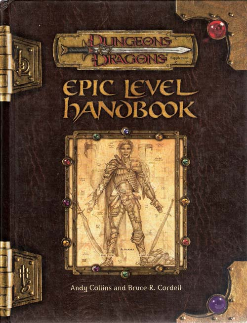 Epic Level Handbook cover