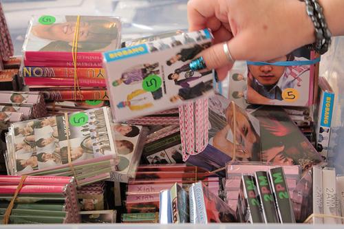 kpop fan memorabilia