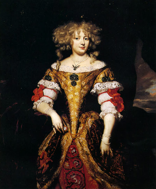 Nicolaes Maes - Countess Monzi.
