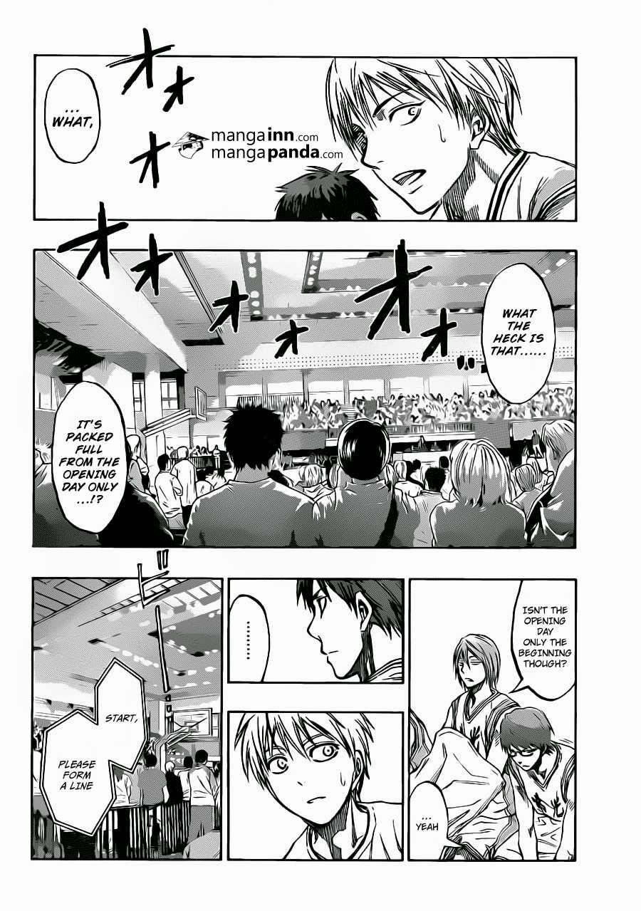 Kuroko no Basket Manga Chapter 215 - Image 12