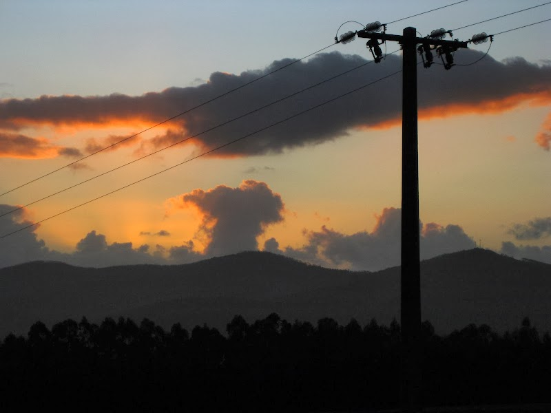 Sonnenuntergang über Godán