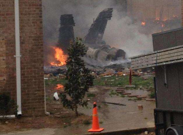 Navy Jet Crash Landing