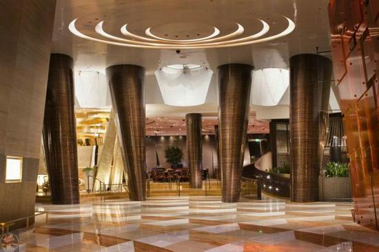 aria resort & casino beleuchtungskonzept