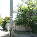 Sign post for Ridgeway Road in New Lambton Heights (400591)