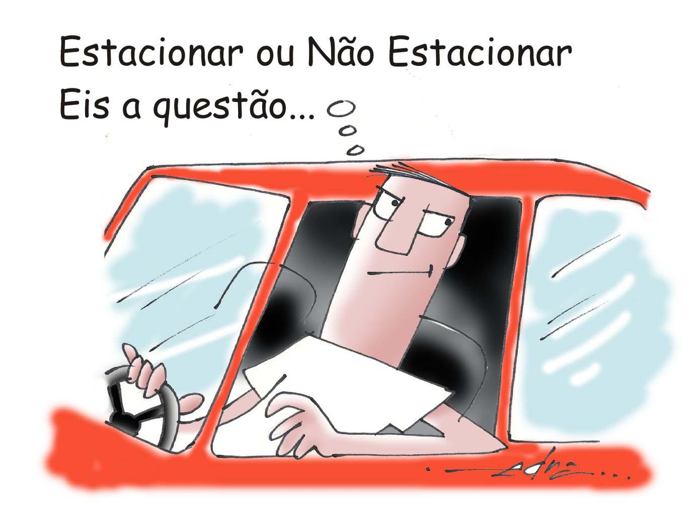 Resultado de imagem para brasil estacionado charges
