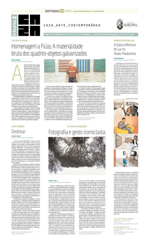 Página da Caza - 04 de Maio de 2012