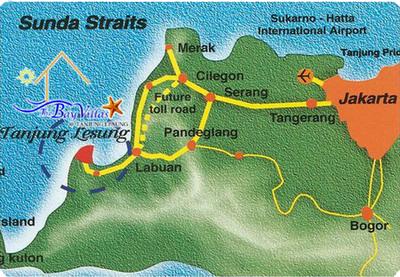 Peta Tanjung Lesung