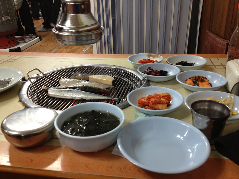 Grilled fish in Sokcho