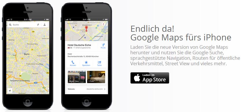 Google Maps Nun Auch Fur Ios Verfugbar De Merq Org It Und