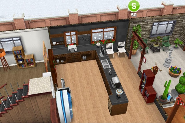 The Sims Freeplay Christmas Update All The World S A Game
