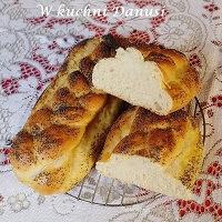 chałki jogortowe z mąki orkiszowej i chlebowej