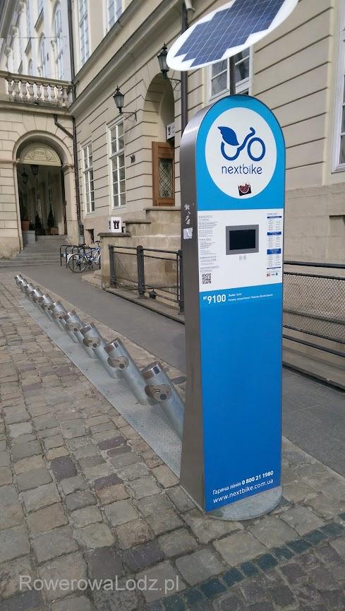 Podobnie jak w Łodzi, Lwów w kwietniu 2016 uruchamia system roweru publicznego. Jako pierwsze miasto na Ukrainie