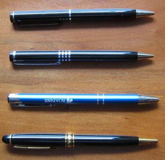 Cơ sở sản xuất viết bi, bút bi, bút kim loại, bút nhựa, bút in ấn logo công ty.