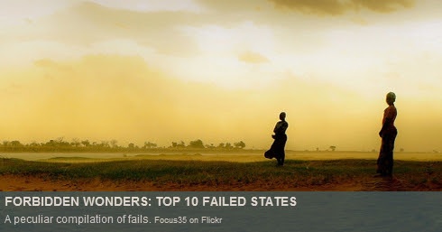 top 10 failed states