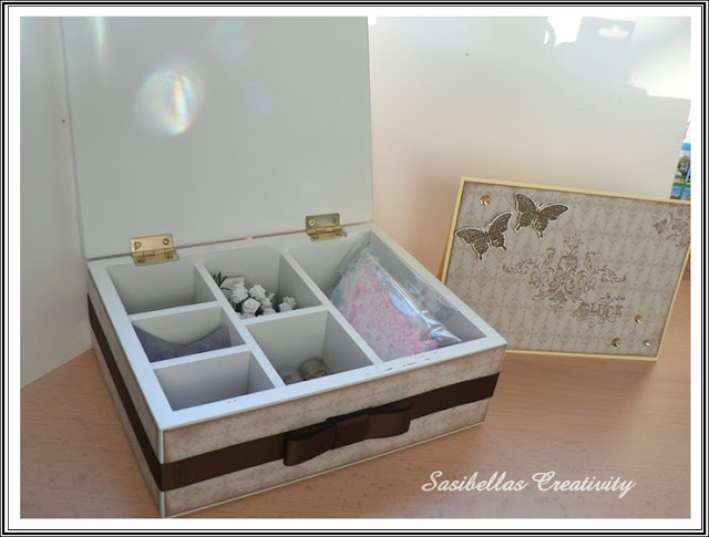 "Vintage Box mit Stampin Up Set ""Glück"" 3"