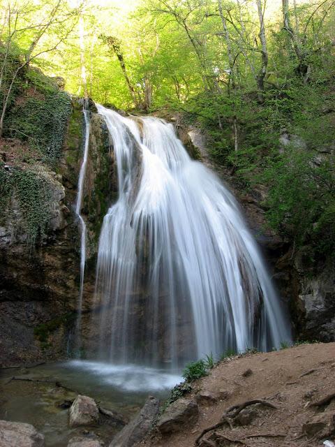 Отдых в Алуште - Водопад Джур-Джур