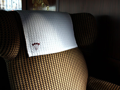 Orient Express chair on the Spirit of Chartwell, the Queen's Diamond Jubilee barge in London